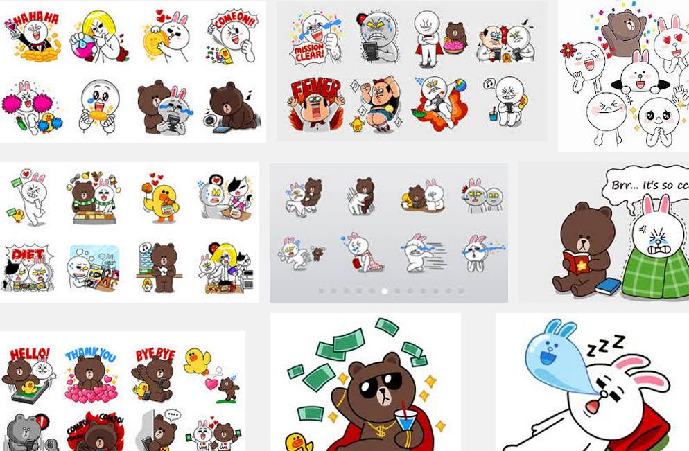 แจก Line Sticker ฟรี หลากหลายรูปแบบ เอาไว้ใช้งานกราฟฟิก